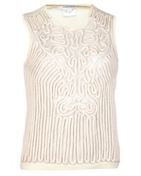 Carven | White Rope Tank | Lyst