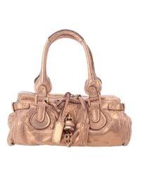 Chloé - Metallic Leather Bag - Lyst