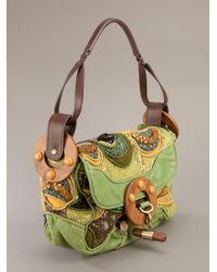 Jamin Puech - Green Sequin Embellished Shoulder Bag - Lyst