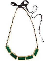 Marni - Green Collier Necklace - Lyst