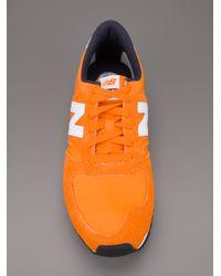New Balance Orange U420 Trainer for men
