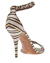 Tabitha Simmons   Metallic Cricket Ankle Dorsay Pump   Lyst