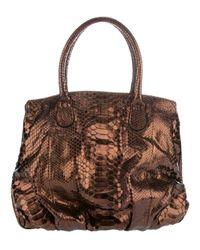 Zagliani | Metallic Passage Bag | Lyst