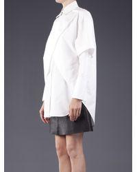 Alexander Wang | White Double Layered Dress | Lyst