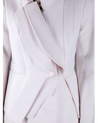 Givenchy - Natural Asymmetric Coat - Lyst