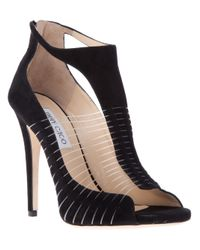 Jimmy Choo | Black Taste Sandal Pump | Lyst