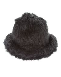 Junya Watanabe - Black Faux Fur Hat - Lyst
