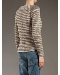 Massimo Alba - Gray Cashmere Knitted Cardigan - Lyst