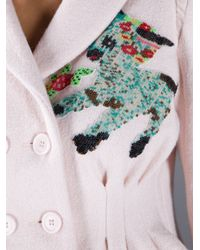Meadham Kirchhoff - Pink Lamb Jacket - Lyst