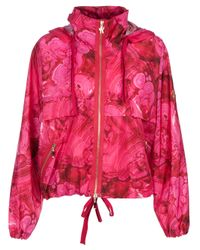 Moncler Gamme Rouge | Purple Printed Jacket | Lyst