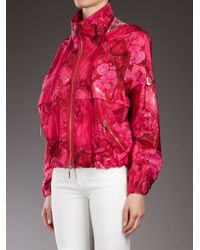 Moncler Gamme Rouge - Purple Printed Jacket - Lyst