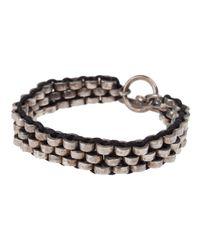 Tobias Wistisen | Black Multi Ring Bracelet for Men | Lyst