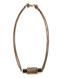 A Peace Treaty - Metallic Rebianae Onyx Necklace - Lyst