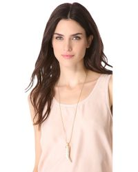 Adia Kibur - Multicolor Horn Necklace - Lyst