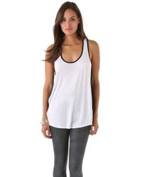 Aiko - White Weekend Starr Tank - Lyst
