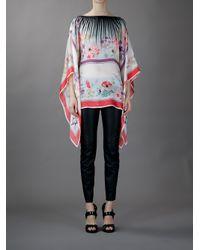 Amen | Multicolor Loose Floral Print Tunic | Lyst
