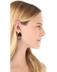 Auden | Pink Amelia Earrings | Lyst