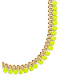 BaubleBar | Yellow Fluoro Gear Strand | Lyst