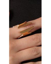 CC SKYE - Metallic Super Woman Ring - Lyst