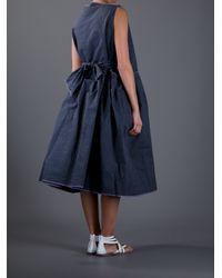 Daniela Gregis - Gray Oversize Dress - Lyst