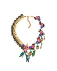 Erickson Beamon | Metallic Erin Fetherston Necklace - For Women | Lyst