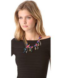 Erickson Beamon | Metallic Erin Fetherston Necklace - For Women | Lyst