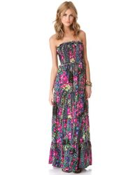 Free People - Black Easy Come Easy Go Dress - Lyst