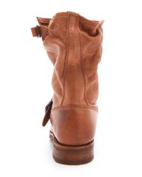 Frye - Brown Veronica Shortie Boots - Lyst