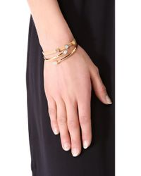 Gorjana - Natural Daphne Leather Bracelet - Lyst