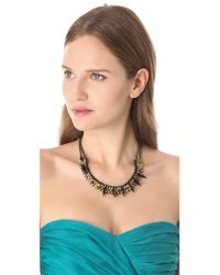 Iosselliani - Black Agate Stone Necklace - Lyst