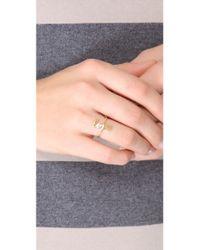 Jennifer Zeuner | Metallic Cursive Love Ring | Lyst