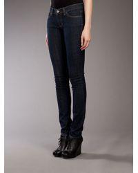 Jet by John Eshaya | Blue 'trash' Skinny Jeans | Lyst