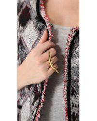 Kelly Wearstler - Metallic Gold Horn Ring - Lyst