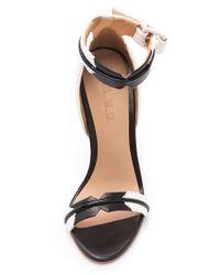 L.A.M.B. - White Jazmyn Sport Sandals - Lyst