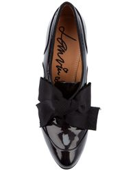 Lanvin - Black Boots with Hidden Wedge - Lyst