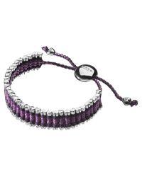 Links of London | Purple Cat Deeley Rainbow Friendship Bracelet | Lyst