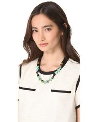 Lizzie Fortunato - Black Mexicali Blues Necklace - Lyst
