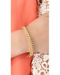 Lizzie Fortunato   White Scale Bracelet   Lyst
