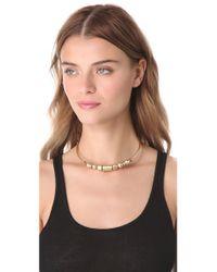 Madewell - Metallic Collar Necklace - Lyst