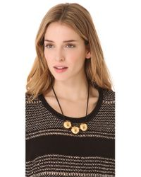 Marc By Marc Jacobs - Metallic Exploded Bow Ball Necklace - Lyst