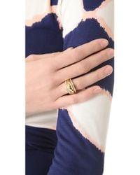 Michael Kors - Metallic Grayson Pave Ring Set - Lyst