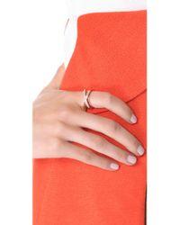Michael Kors   Metallic Brilliance Intertwined Ring   Lyst