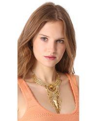 Noir Jewelry - Metallic Darjeeling Layered Necklace - Lyst