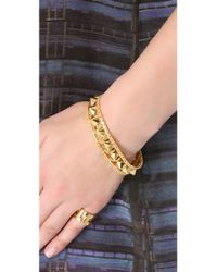 Noir Jewelry - Metallic Darjeeling Spiked Bracelet - Lyst