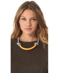 Orly Genger By Jaclyn Mayer - Orange Necco Necklace - Lyst