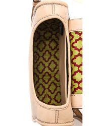 orYANY | Beige Morgan Saddle Bag | Lyst