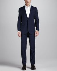 Ralph Lauren Black Label | Blue Pinstripe Suit Navy for Men | Lyst