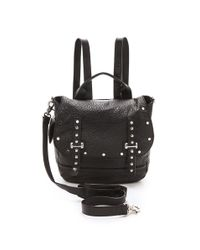 Rebecca Minkoff - Black Logan Backpack - Lyst