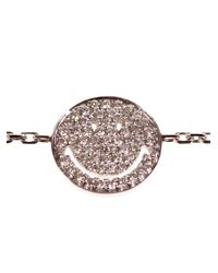 RedLine - Metallic Smiley Bracelet - Lyst