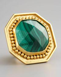 Stephanie Kantis | Green Malachite Ring | Lyst